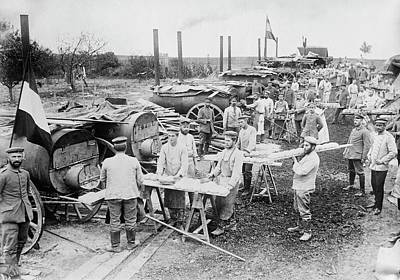 German Field Bakery Print by Library Of Congress