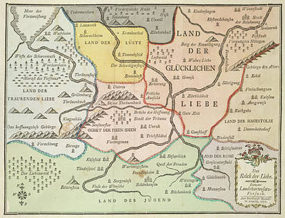 German Map Print by British Library