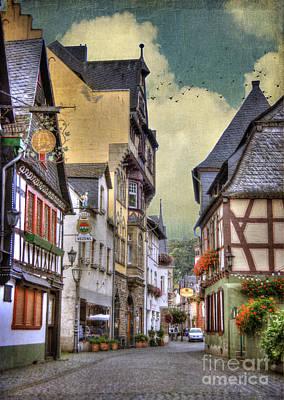 Frame House Photograph - German Village by Juli Scalzi