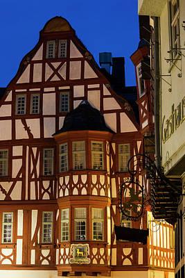 Germany, Hesse, Limburg An Der Lahn Print by Walter Bibikow
