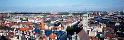 Rooftop Photograph - Germany, Munich by Panoramic Images