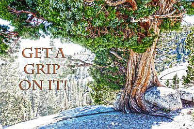 Get A Grip Photograph - Get A Grip On It  by Randall Branham