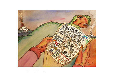 Get Rich Classifieds Humor Print by Michael Shone SR