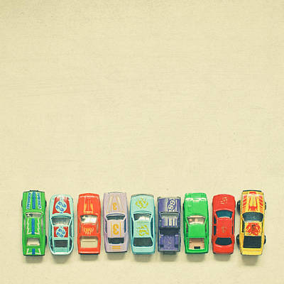 Toy Photograph - Get Set Go by Cassia Beck