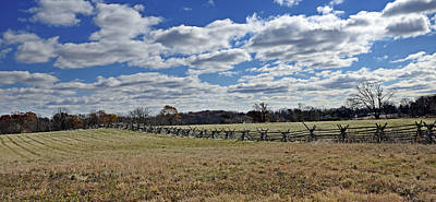 Civil War Battle Site Photograph - Gettysburg Battlefield - Pennsylvania by Brendan Reals