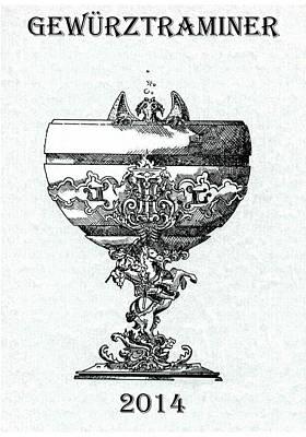 Gewurztraminer Print by Julio Lopez