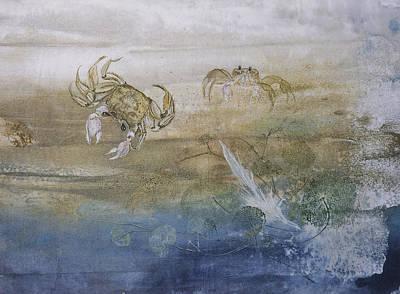 Ghost Crab Print by Nancy Gorr