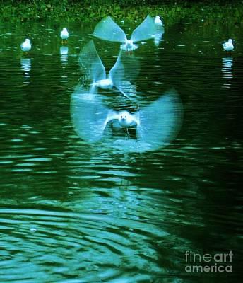 Wet Fly Digital Art - Ghost Flight by C Lythgo
