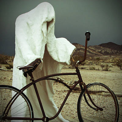 Square Photograph - Ghost Rider by Marcia Socolik