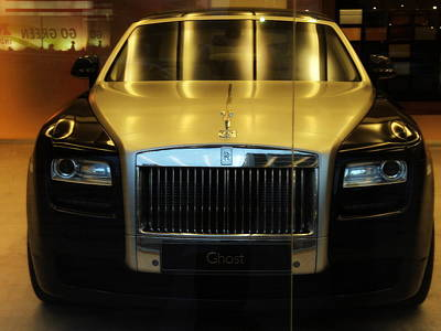Rolls Royce Ghost Print by Salman Ravish