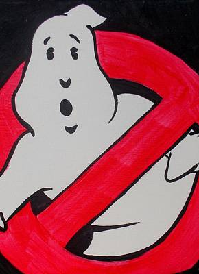 Ghost Busters Painting - Ghostbuster by Marisela Mungia