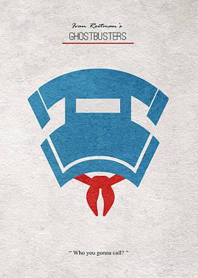 Ghostbusters Print by Ayse Deniz