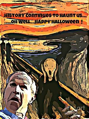 George Bush Digital Art - Ghosts Of The Past by John Malone