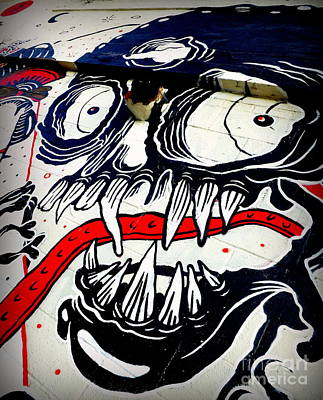 5 Pointz Photograph - Ghoulish by James Aiken