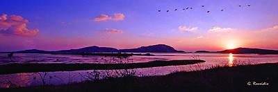 Wetland Photograph - Gialova Wetland by George Rossidis