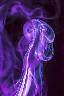 Smoke Photograph - Giant Jelly by Cj Avery