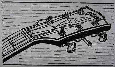 Austin Drawing - Gibson by William Cauthern