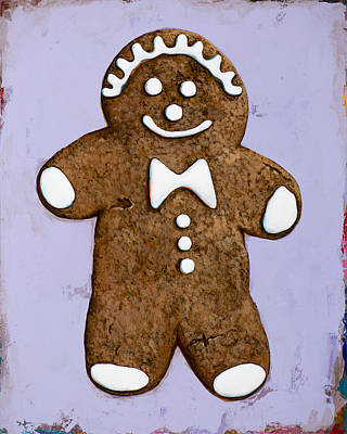Cookie Painting - Ginger by David Palmer