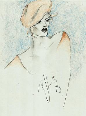 Ginger Print by P J Lewis