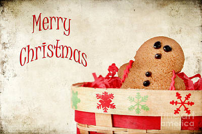 Gingerbread Man Print by Darren Fisher