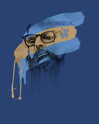 Enhance Painting - Ginsberg by Pop Culture Prophet