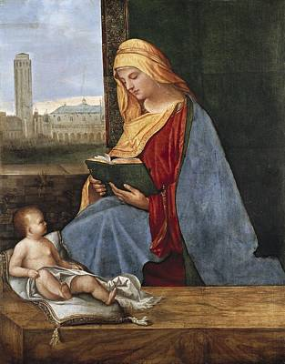 Jesus With A Woman Photograph - Giorgione, Pupil Of 15th-16th Century by Everett