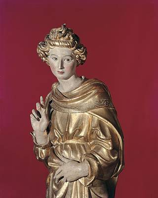 Giovanni Di Turino, Annunciation Print by Everett