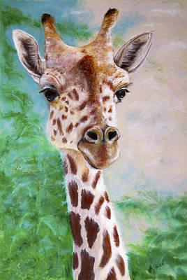 Giraffe Painting - Grace Of Giraffe by Marie Stone Van Vuuren