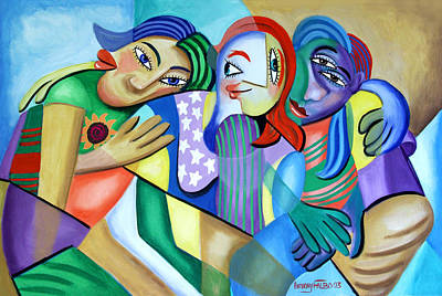 Girlfriends Original by Anthony Falbo