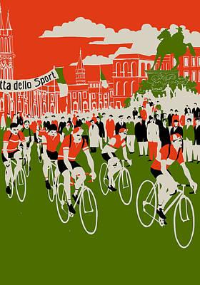 Giro Print by Eliza Southwood