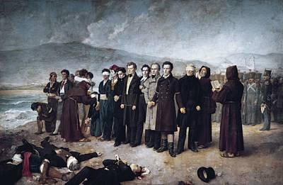 Gisbert, Antonio 1835-1902. Execution Print by Everett