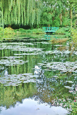 Painter Photograph - Giverny by Olivier Le Queinec