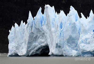 Glaciar Grey Patagonia Chile 3 Print by Bob Christopher