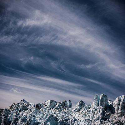 Glacier Clouds Print by Dayne Reast