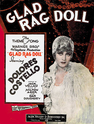 Rag Doll Photograph - Glad Rag Doll by Mel Thompson