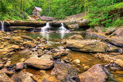 Glade Creek Mill - Beckley West Virginia Print by Gregory Ballos
