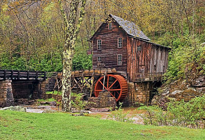 Mill Photograph - Glade Creek Mill by Marcia Colelli