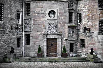 Glamis Castle. Doorway Print by RicardMN Photography