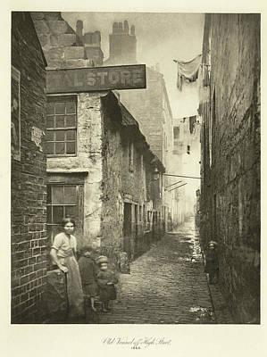 Slums Photograph - Glasgow Slum by British Library