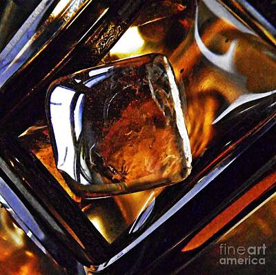 319 Photograph - Glass Abstract 319 by Sarah Loft