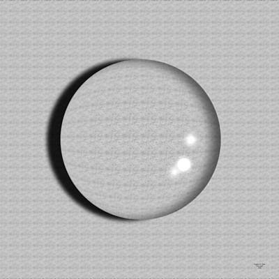 Glass Ball Print by Stephan Pabst