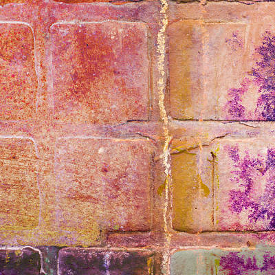 Ceramic Tile Photograph - Glass Crossings 2 by Carol Leigh