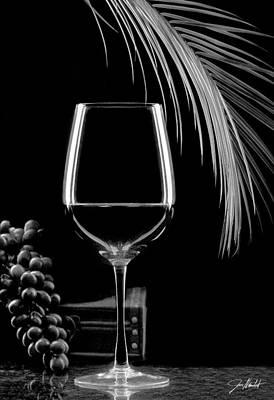 Winery Photograph - Glass Of Paradise by Jon Neidert