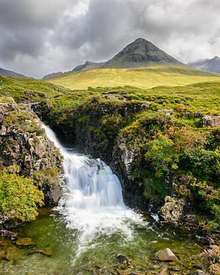 Glen Brittle Photograph - Glen Brittle Waterfall by Michael Blanchette
