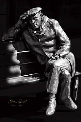 Glenn Gould Print by Andrew Fare