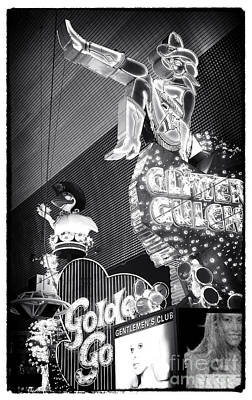 Glitter Gulch Photograph - Glitter Gulch by John Rizzuto
