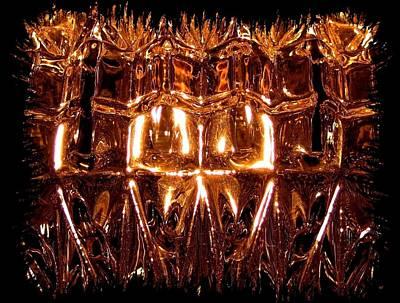 Glittering Glass Print by Will Borden