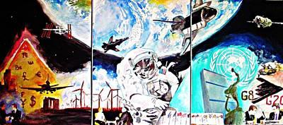 Global Civilization 2010 Original by Ken Higgins