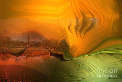 Anticipation Digital Art - Global Warming by Christian Simonian