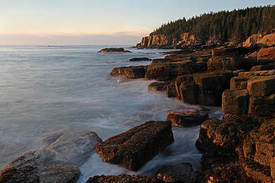 Glorious Maine Acadia National Park Print by Juergen Roth
